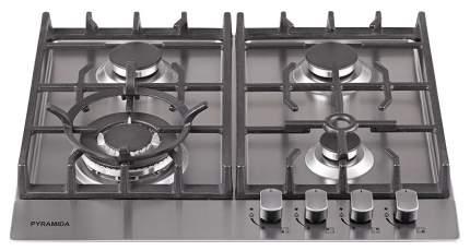 Встраиваемая варочная панель газовая Pyramida PFX 643 Inox Luxe Silver