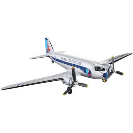 Радиоуправляемый самолет FlyZone Micro Douglas DC-3 Airliner EP 584мм RTF