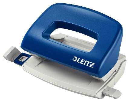 Дырокол Leitz офисный небольшой синий