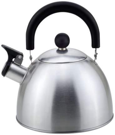 Чайник Mallony MAL-039-MP, металл, со свистком 0,28мм, 2,5л, ручка бакелит