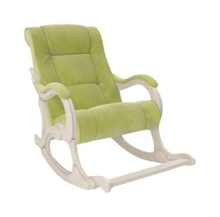 Кресло-качалка Комфорт Модель 77 KMT_2000000068572, зеленый
