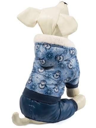 Комбинезон для собак Triol Пингвины, зимний, синий, размер XL