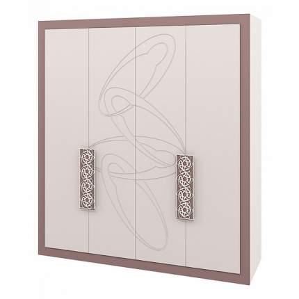Платяной шкаф Мебель-Неман Эллипс NEM_MH-118-04 196x65x220, светло-коричневый