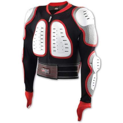 Защитная куртка NIDECKER Predator safety jacket белый/красный, S