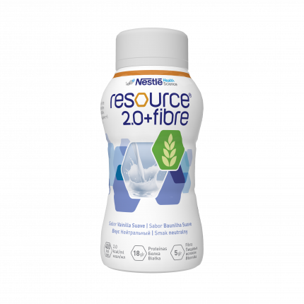 Смесь Nestle Resource 2.0+Fibre нейтральный вкус от 3 лет 200 мл
