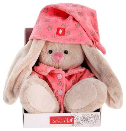 Мягкая игрушка BUDI BASA Зайка Ми в розовой пижаме, 18 см