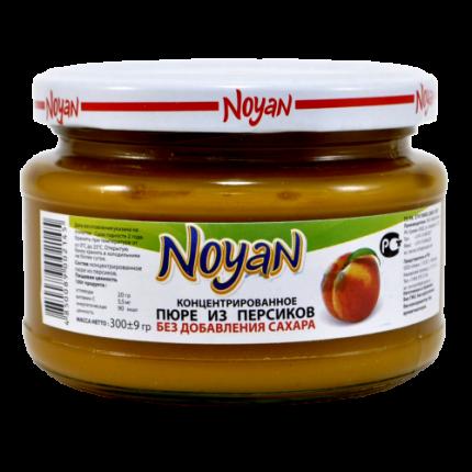 Пюре Noyan из персиков без сахара  300 г