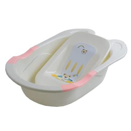 Детская ванна с горкой для купания Pituso, 85 см цветрозовый