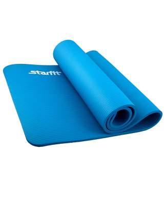 Коврик для йоги FM-301, NBR, 183x58x1,2 см, синий