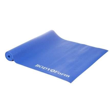 Коврик гимнастический Body Form BF-YM01 173*61*0,4 см. (синий)