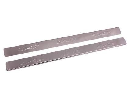 Накладки на пороги длинные  Niva 2121 Dollex NPS-206