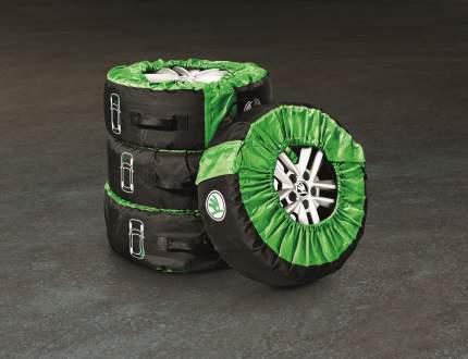 Комплект чехлов для колес кроссоверов Skoda