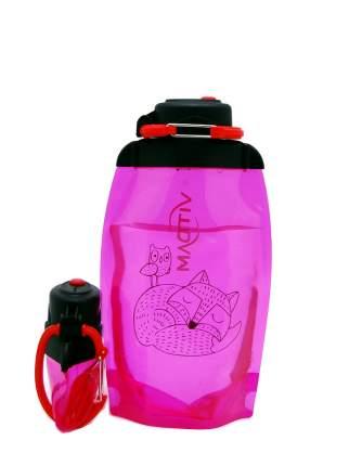 Бутылка Vitdam B050PIS-1304 500 мл розовая