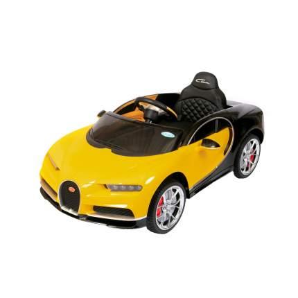Детский электромобиль Barty Bugatti Chiron HL318 (Лицензия), Жёлтый
