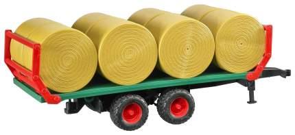 Прицеп для перевозки рулонов сена, с 8 рулонами