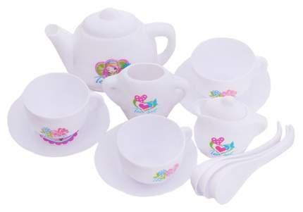 Набор пласт.чайн. сервиз, МиниМаниЯ, РАС 23х15х2 см, арт. М6360.