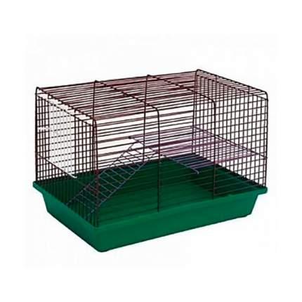 Клетка для грызунов ZooMark, 2-этажная, 36х24х27см