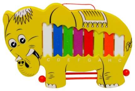Металлофон Shantou Gepai Музыкальный Слон MA-049