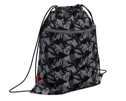 Мешок для обуви ErichKrause с карманом на молнии 500х410мм Thistle