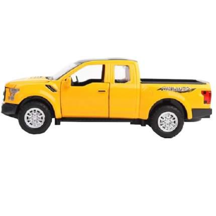 Инерционная машинка Cars Пикап F RAPT Cars желтый, 17.5 см