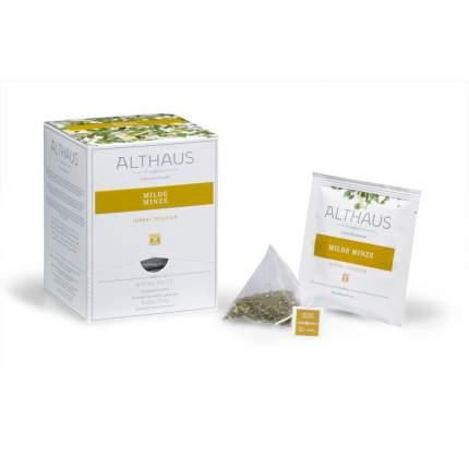 Чай травяной в пирамидках Althaus нежная мята 15*1.75 г