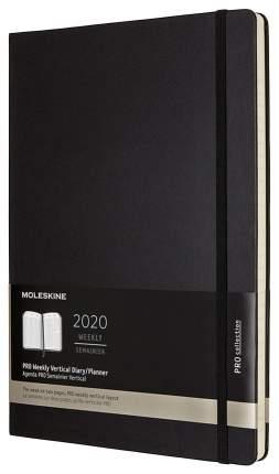 Еженедельник MOLESKINE Pro Vertical DHB12PRO5 Черный
