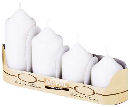 Набор свечей Adpal 348-594 Белый