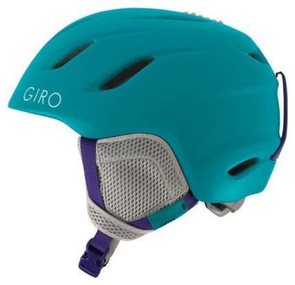 Горнолыжный шлем детский Giro Nine Jr 2019, синий, M
