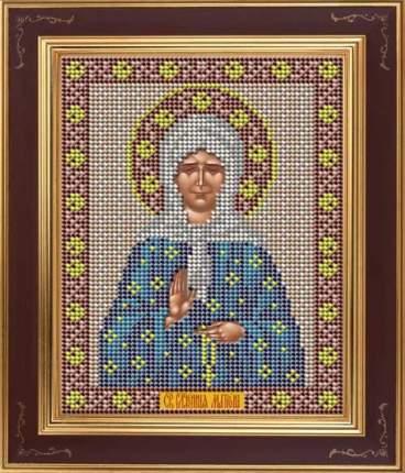 Вышивка бисером Galla Collection М263 Св.блаженная Матрона Московска 12х15 см