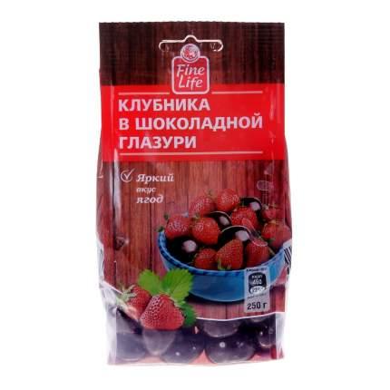 Драже Fine Life клубника в шоколадной глазури 250 г