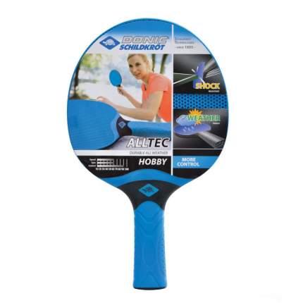 Ракетка для настольного тенниса Donic 733014 Alltec Hobby, синяя