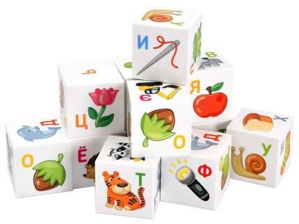 Кубики для настольных игр Десятое Королевство Азбука для умников 00712ДК