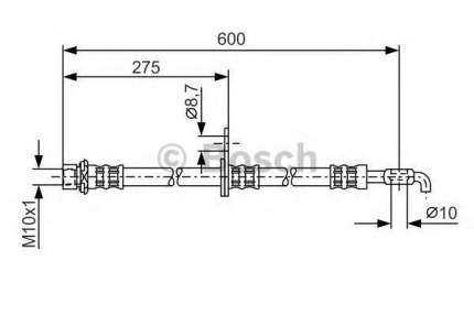 Шланг тормозной системы Bosch 1987476229