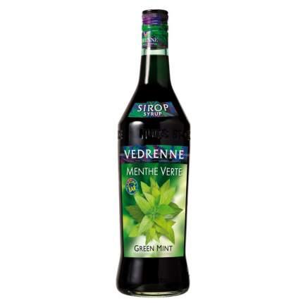 Сироп Vedrenne зеленая мята 1 л