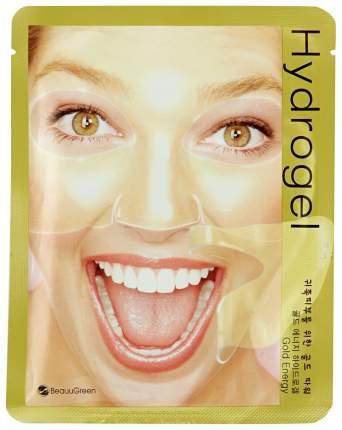 Маска для лица BeauuGreen Hydrogel Gold Energy Mask 1 шт