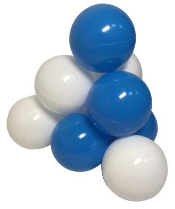 Комплект шариков Облака (50шт: голуб и бел) для сухого бассейна