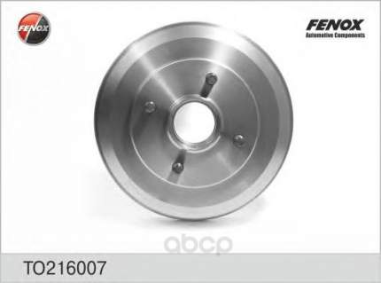 Барабан тормозной FENOX TO216007
