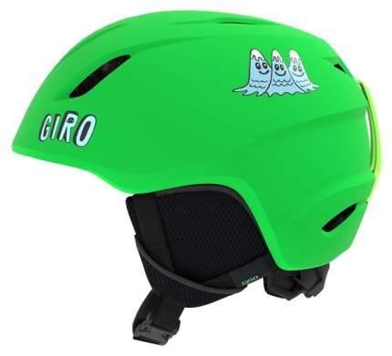 Горнолыжный шлем детский Giro Launch Jr 2019, зеленый, S