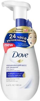 Мусс для умывания Dove Увлажняющий 160 мл