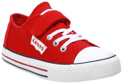 Кеды Levi's Kids red 34 размер