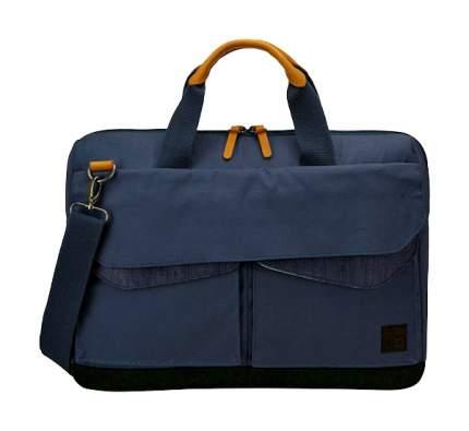 "Сумка для ноутбука 15"" Case Logic LoDo Attache Dress Blue"