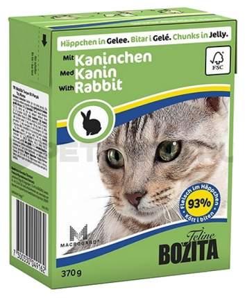 Влажный корм для кошек Bozita in Jelly with Rabbit, 370 г
