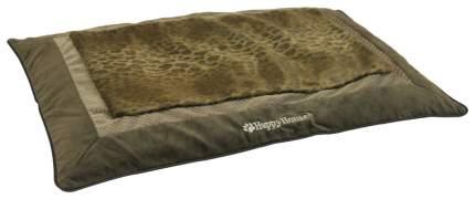 Коврик для животных HAPPY HOUSE  LEOPARD SHIC COLLECTION коричневый-леопард, 73х50 см