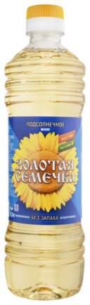 Масло подсолнечное Золотая Семечка без запаха 500 мл