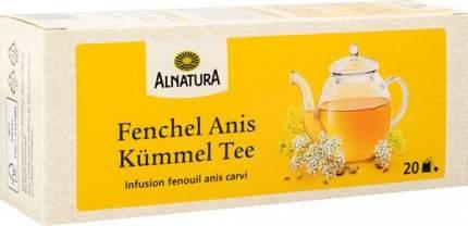 Чайный напиток Alnatura с фенхелем, анисом и тмином 20 пакетиков