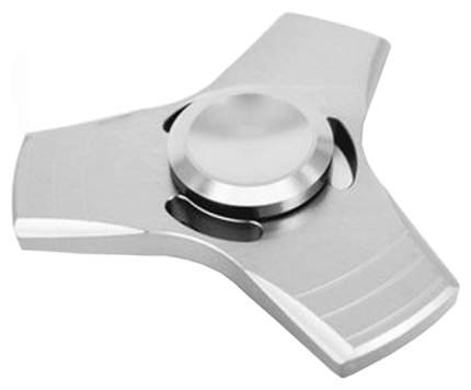 Металлический cпиннер Fidget Spinner Alloy серебристый