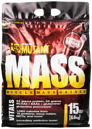 Гейнер Mutant Mass 6800 г Strawberry Banana