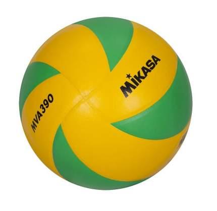 Волейбольный мяч Mikasa MVA390 CEV №5 yellow/green