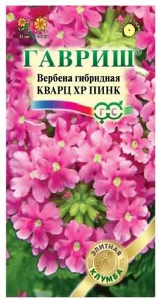Семена Вербена гибридная Кварц ХР Пинк, 5 шт, Гавриш