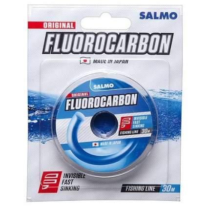 Леска монофильная Salmo Fluorocarbon 30 м прозрачная 0,12 мм